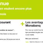 Le Compte Premium Monabanq accessible sans condition de revenu